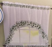 Ivy Swag (Rod Pocket Valance - 58 inches Wide x 36 inches High) in Byron, Georgia