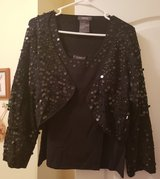 Black Sequin Sweater Set in Byron, Georgia