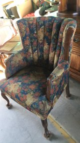 Nice older wing back chair in 29 Palms, California
