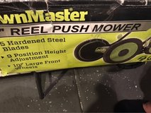 lawn master reel push lawnmower in Las Vegas, Nevada