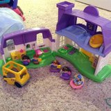 Fisher Price little people house in Fort Campbell, Kentucky