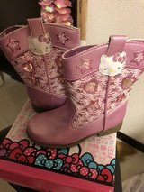 New Hello Kitty Boots (size 9 toddler/Japanese 16.5 cm) in Okinawa, Japan