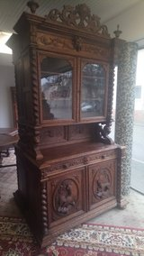 antique buffet, hunting buffet in Ramstein, Germany
