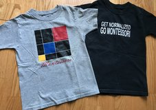 4/5 boys Montessori shirts in Warner Robins, Georgia