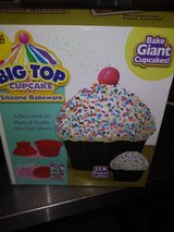 Giant cupcake maker in Travis AFB, California