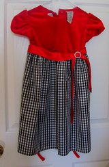 Red and Black and White Plaid one Piece for X mas in Perry, Georgia