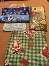 Christmas table cloths in Alamogordo, New Mexico