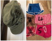 Hollister, Pink, Adidas Shorts & Roxy hat in Vacaville, California