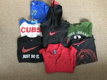 Boy's size medium lot long sleeve and short sleeve shirts medium 8, 8-10 in Naperville, Illinois
