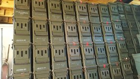 500 Military ammo cans in Warner Robins, Georgia