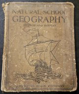 1907 Geography elementary textbook in Hopkinsville, Kentucky