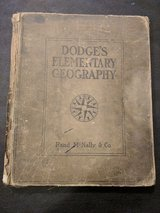 1903 Geography textbook in Hopkinsville, Kentucky