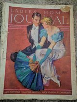 Vintage Magazines Saturday Evening Post and Ladies Home Journal in Fort Campbell, Kentucky