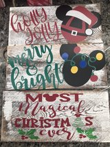 Holiday signs for sale in Savannah, Georgia