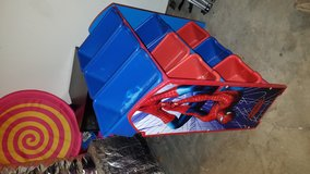 Spiderman toy organizer in Fort Campbell, Kentucky