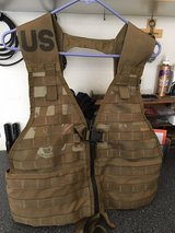 USMC FLC LBV FIGHTING LOAD CARRIER VEST COYOTE BROWN in Temecula, California