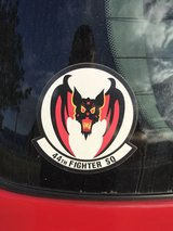 Priceless Vampire Bat sticker in Okinawa, Japan