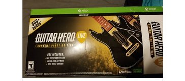 guitar hero double guitar set for xbox one in bookoo, US