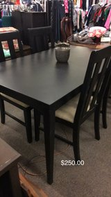 Table and Four Chairs in Fort Leonard Wood, Missouri