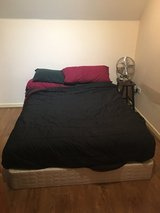American queen sized bed with boxspings in Lakenheath, UK