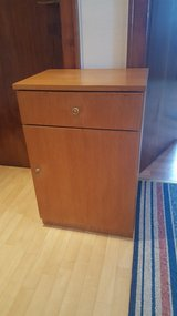 Wooden Cabinet with Drawer in Ramstein, Germany