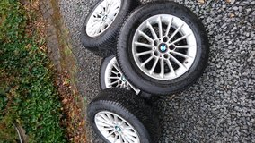 BMW 5-series alloy wheels in Spangdahlem, Germany