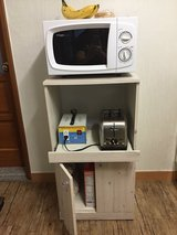 Kitchen Microwave Stand in Camp Humphreys, South Korea