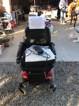 Electric wheelchair in Yucca Valley, California
