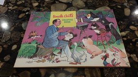 Vintage - Uncle Art's coloring book - 1972 in Westmont, Illinois