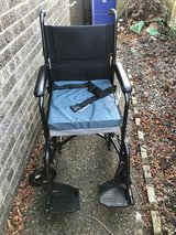 wheelchair with seat cushion in Lakenheath, UK