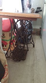 ANTIQUE SINGER SEWING TABLE in Shorewood, Illinois