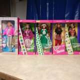 barbie dolls 5 never opened old . in Tinley Park, Illinois