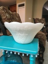 Milk Glass Punch Bowl in Naperville, Illinois