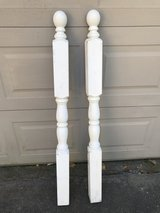2 Wooden Decorative Posts in Kingwood, Texas