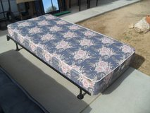 %%  Twin Box Spring + Rails  && in 29 Palms, California