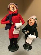 Byers Choice Christmas Carolers Man and Boy in Westmont, Illinois