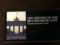 THE OPENING OF THE BRANDENBURG GATE COMMEMORATIVE 20 MARK COIN 1990 in Fort Knox, Kentucky