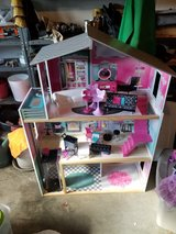 barbie house and accessories in Fort Campbell, Kentucky