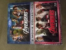 Avengers blue ray 2 set in Stuttgart, GE