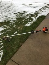 Stihl gas hand held blower starts and runs great ready for work in Oswego, Illinois