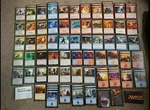 Magic cards in Fort Campbell, Kentucky