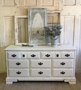 Shabby White Dresser in Kingwood, Texas