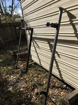 Metal bed frame in Conroe, Texas