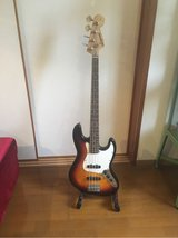 Electric Bass with stand and gig bag in Okinawa, Japan