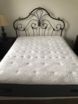 Ashley's Queen Metal Bed w/ Mattress in Columbia, South Carolina