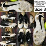 NIKE Women's HYPERDIAMOND 2 KEYSTONE Softball Cleats Size 8 Excellent Used Condition in Fort Knox, Kentucky