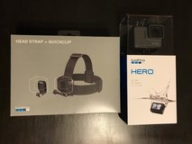 GoPro HERO w/ head strap NIB in Oswego, Illinois