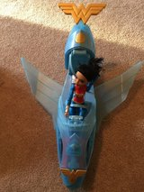 DC Super Hero Girls Wonder Woman Action Doll and Invisible Jet in Beaufort, South Carolina