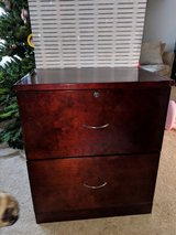 Wood file cabinet in Naperville, Illinois