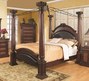 King Size Poster Bed in Leesville, Louisiana